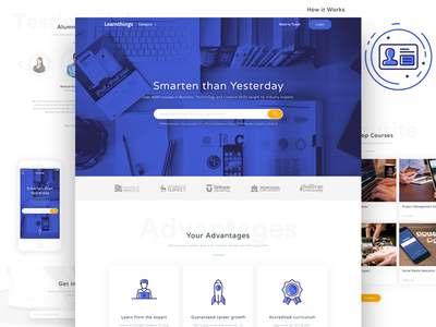 Online Course Landing Page by Kukuh Andik - Dribbble