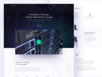 IT Consultant Homepage (rejected)
