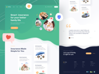 Thrifty - Insurance Landing Page