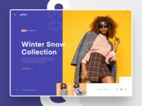 #Exploration | Galileo - Fashion Website