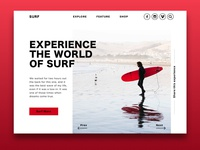 Daily UI Surfer