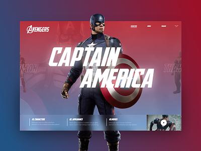 Avengers #2 avengersendgame mondrianizm avengers slider design colorfull uidesigner uidesign