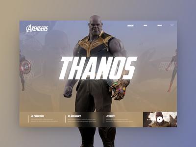 Avengers #3 mondrianizm avengers slider plugin slider design colorfull uidesign ui
