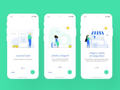 Fintech app #2 design branding illustration colorfull uxdesign uidesign ux ui app design fintech cash app