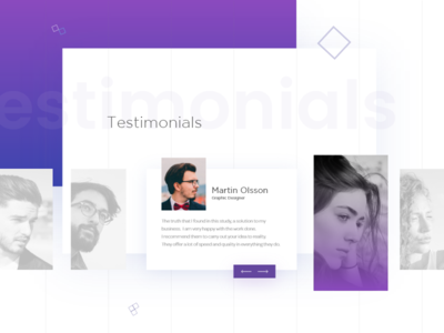 Testimonials -Team tangible page comments users person image testimonials violet web