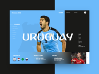 Russia World Cup - Uruguay (Group A)
