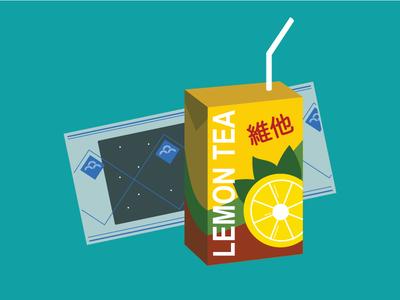 Childhood Snacks food chinese food snacks seaweed vita lemon tea tea
