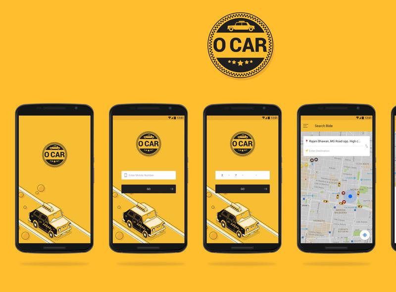 Ocar car booking app website design graphic design app creative app creative ui creative app design app ui web design app design ui  ux creative design