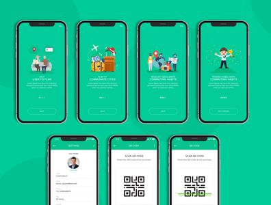 Mobile app UI/UX creative ui logo ui design website design creative app design app ui web design app design creative design