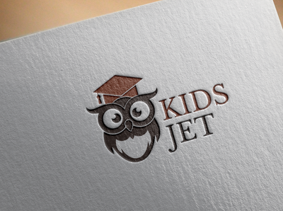 kidjet logo creative logo design logo a day logo designer adobe logo design