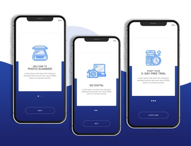 welcome Screens app of the day creative design creative app design app ui web design app design ui  ux