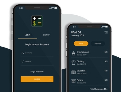 Creative Mobile App creative app design app ui web design app design ui  ux