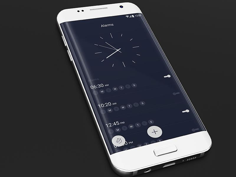 Alarm App app ui creative app app design