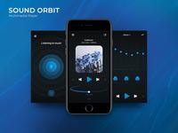 Sound Orbit. Multimedia Player Concept