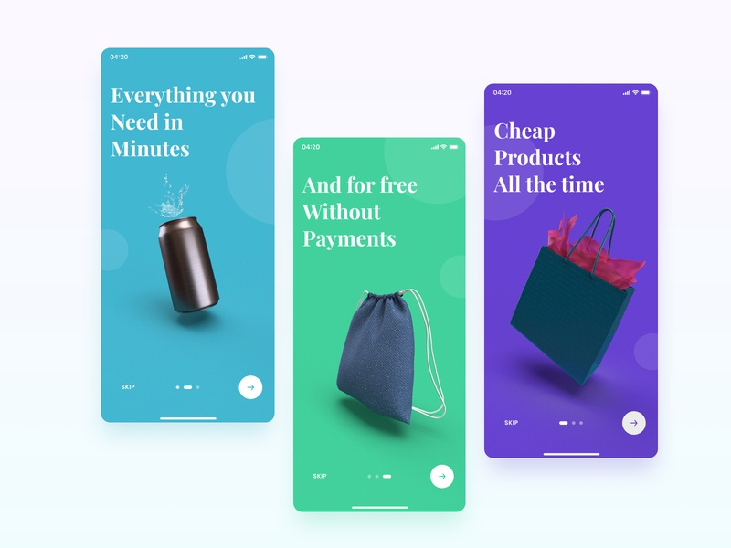 Onboarding Products - Inspiration colours figma design figmadesign colors figma principle ui design webdesign sketch invision studio landing page adobe xd design object onboarding