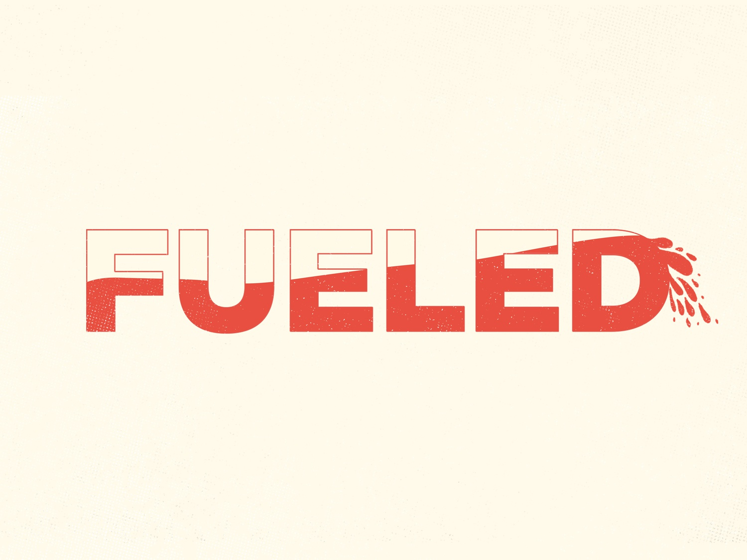 Fueled Sermon Series Art by Naomi Dable on Dribbble