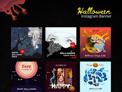 Halloween Instagram Banner
