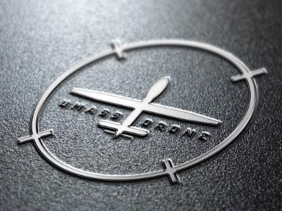 UMass Drone Database Project design icon logo drone