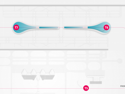 BIG - Airport infographic airplane infographic airport