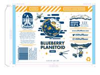 Blueberry Planetoid Stout