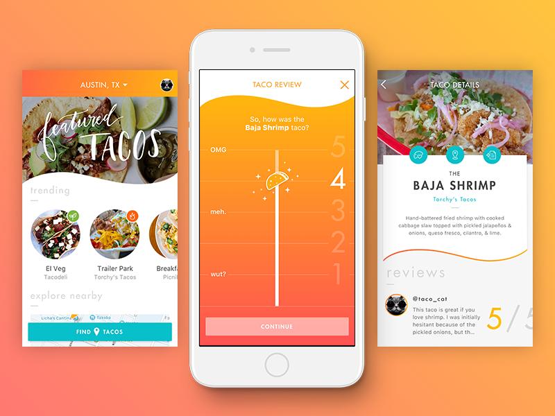 Taco App Concept
