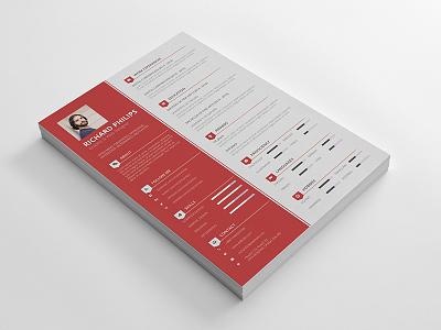Resume/CV vector resume professional resume print pdf resume ms word resume cv corporate resume corporate clean resume clean ai resume cv a4