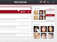 RoylzClub – Member Home