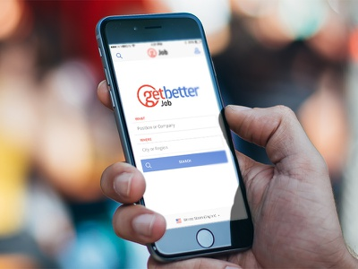 GetBetter mobile  mobile iphone app web home search icons