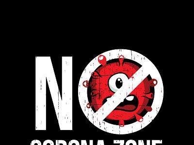 NO CORONA ZONE ILLUSTRATION vector coronavirus covid-19 corona illustration