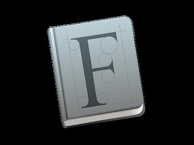 Font Book Icon Mac OS X Yosemite font fontbook mac os x yosemite book fonts