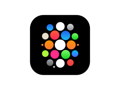 Apple Watch Icon Concept 3 circle app timepiece time face watch iphone icon ios apple watch apple