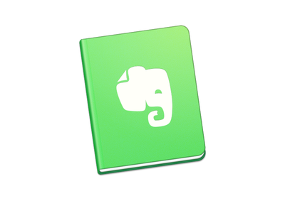 Evernote mac app icon redesign icon app icon artwork handbook book macapp mac evernote icon a day app apple