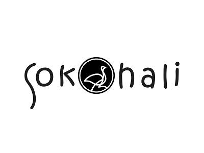 Sokohali Logo identity branding identity simple design black logo design branding branding design branding writing logo design logo