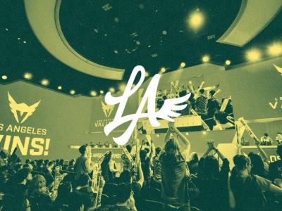 LA Valiant Logo Redesign Concept