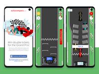 F1 contest - Game screenshots