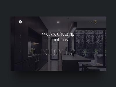 InColor Kitchens Website Showcase backend front-end kitchen incolor parallax responsive website web design ux ui development design branding