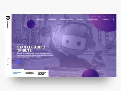 BenzTown Homepage Slider web site development responsive animation web web design website ux ui design