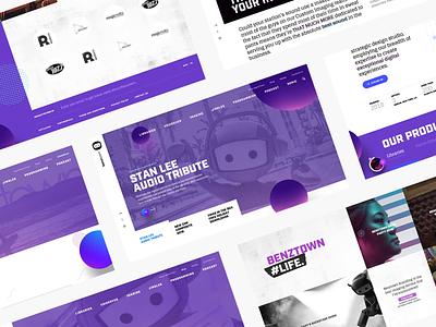 BenzTown Homepage ux design uxdesign uxui uidesign uiux ui  ux development visual identity web development responsive web web design website ux ui design