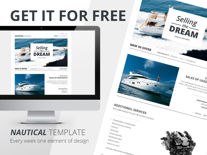 Friday freebie No.2 design website sea beach friday freebie psd