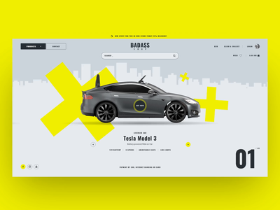 FREE XD Badass shop webshop free xd free psd freebie freebies website design web responsive web design uxui development animation website ux ui design