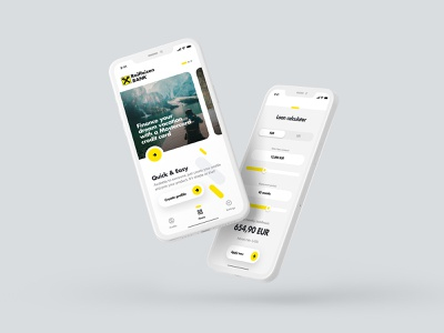 Raiffeisen Bank App pay fintech app loan calculator payment app mobile banking loan payment fintech banking mobile design mobile ui mobile apps mobile app design application ui ux ui design