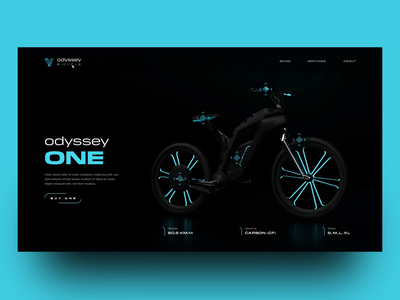 Free XD Odyssey Bicycle website web design animation bicycle bike website bike free xd freexd freebie freebies ui ui design uxui ux design uxdesign ux  ui ux uidesign ui  ux uiux