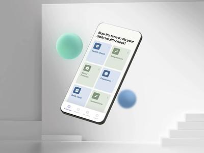 ProCarement App - Walkthrough health app mobile app development ux ui design ui ux animation illustration health care health care app