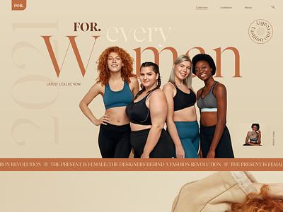 Free XD - fashion website free template free web development web design website adobe xd free xd