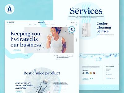 Aquaviva website web development web web design website ux ui design