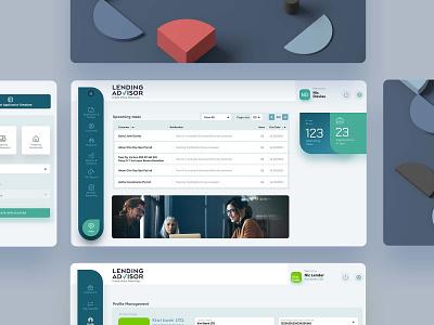 Lending Advisor Website web uxui web development web design website ux ui design