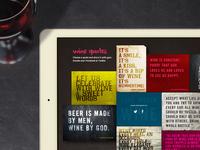 Vinarty web site - sneak preview
