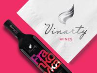 Vinarty Showcase - Brand design, Visual identity, Web design