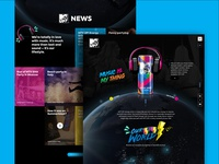 MTV UP Energy Drink Website