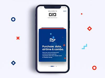 Mobile App Intro Screens Concept transition ui  ux design design swipe concept app intro screen mobile animation mobile app design mobile
